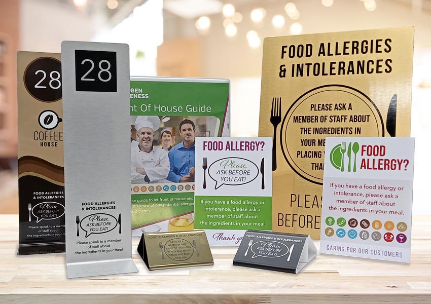 Allergy Awareness Range