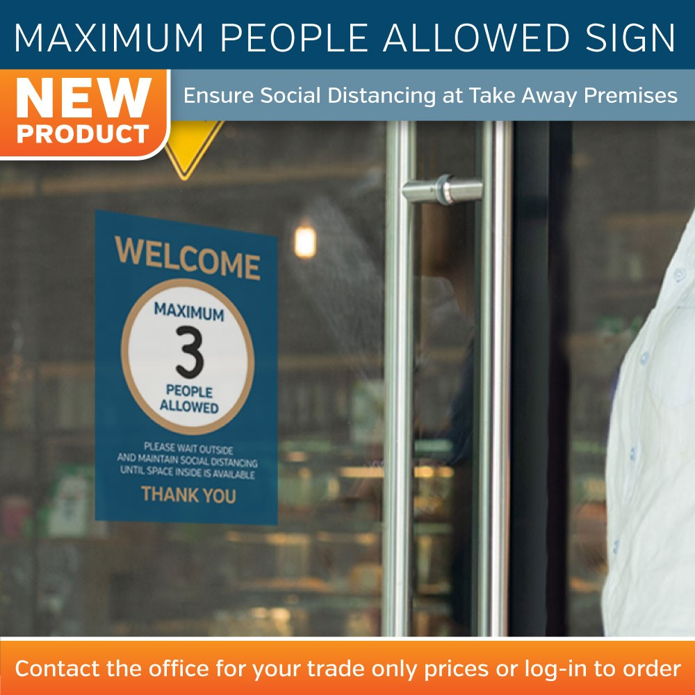 Max People Allowed Banner